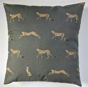 "Cushion Cover in Sophie Allport Cheetah 14"" 16"" 18"" 20"""